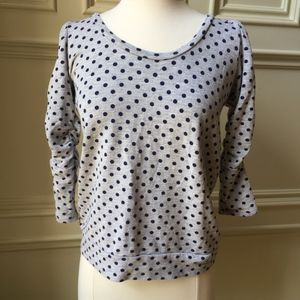 Anthropologie Dotted Shirt